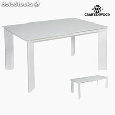 Mesa extensible blanca by Craftenwood