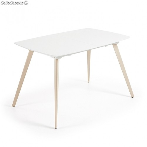 Mesa extensible Smart - Color - Blanco, Medidas - 140