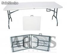 Mesa plegable 2.44 m de largo