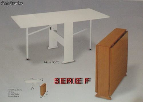 Como hacer mesa abatible interesting maleta mesa plegable - Construir mesa plegable ...