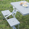 Mesa Plegable de Camping Adventure Goods - Foto 5