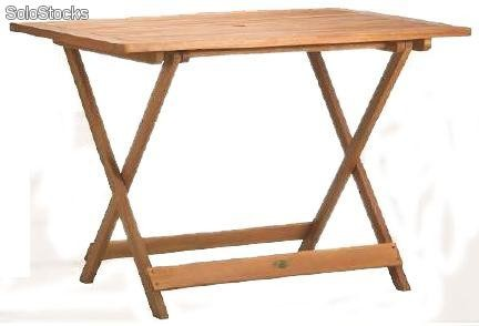Mesa Plegable De Madera Salomon