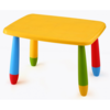 Mesa Rectangular Colores Infantil amarillo unica