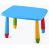 Mesa Rectangular Colores Infantil azul unica