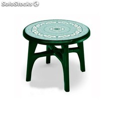 Mesa resina jardin Boss Contract 95 deco-verde