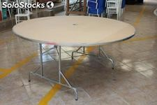 Mesas redondas plegables para fiestas y banquete: Royal table