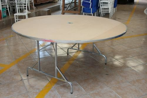 mesas redondas plegables para fiestas y banquete royal table