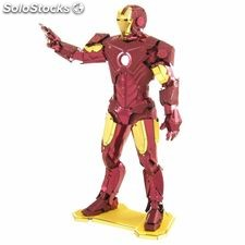 Metal Earth Kit de modelo a escala 3D Marvel Iron Man 570322