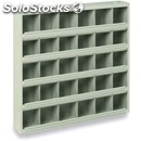 Metal shelf compartments for small tools-mod. sca/20/30/36-block structure to po