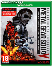 Mgs v the definitive edit./xone