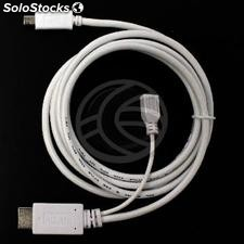 MHL to HDMI converter cable for Samsung Galaxy S3 and S4 Samsung Galaxy Note