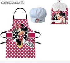 Mickey delantal y gorro