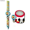 Mickey Mouse Armbanduhr in Metal Box