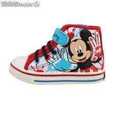 Mickey Mouse Canvas Boots