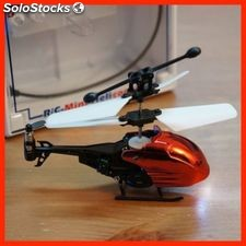 Micro helicoptero red 9 cm LH1311- 3.5 Channels - infrared increible helicopter