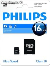 Micro sd 16GB philips