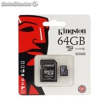 Micro sd kingston 64GB Clase 10 SDCX10/64GB