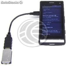 Micro usb otg Cable SmartPhones and Tablets (MH21-0002)