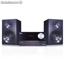 Microcadena de Música lg CM2460 100W usb/Bluetooth tv Sound Sync MP3/CD/wma