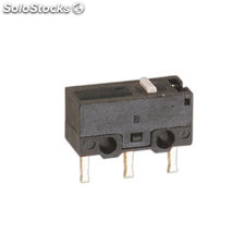 Microinterruptor palanca 13 mm Tipo terminales soldables Electro DH 11.501/P/1
