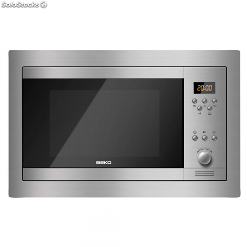 Microondas integrable beko mwb 2310 ex 23l 900w grill for Microondas integrable