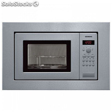 Microondas Integrable Siemens AG HF15G561 18 L 800W Acero inoxidable