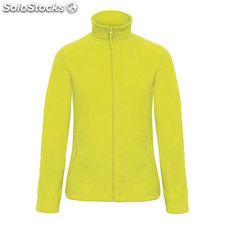 Micropile donna zip intera BC0804-LM-XS, Lime