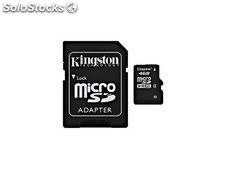 MicroSDHC 16GB Kingston CL4 Blister