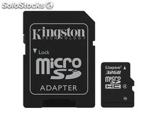 MicroSDHC 32GB Kingston CL4 Blister