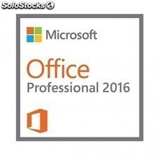 MICROSOFT office 2016 profesional - 1 licencia - word + excel + powerpoint +