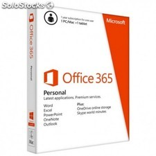 Microsoft - Office 365 Personal 1usuario(s) 1año(s)