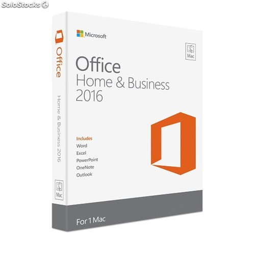 Microsoft Office Home and Business 2016 per Mac