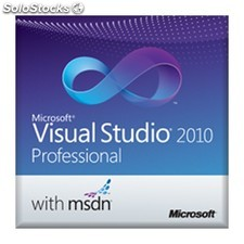Microsoft - Visual Studio 2010 Professional w/ msdn, edu, olp-nl, SA, ml -