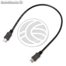 MicroUSB otg usb cable 30cm male-male (MH20)