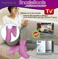 Microwave Heatable Snozie Boots | As seen on tv