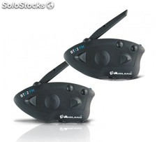 Midland BTX2 FM Twin, pareja Intercom Bluetooth para moto