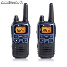 Midland - XT60 24channels 446.00625 - 446.0937MHz Negro, Azul two-way radios