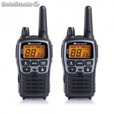 Midland - XT70 24channels 446.00625 - 446.09375MHz Negro, Gris two-way radios