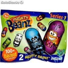 Mighty beanz 2 pack foil bag series 1 contains 2 random beanz *new*