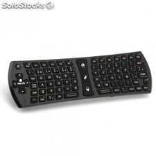 Mini air mouse con teclado ngs tvhunter - 2.4GHz - 83 teclas estandar+12