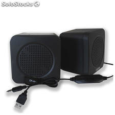 Mini altavoces usb approx appspae