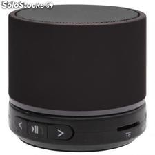 Mini altavoz bluetooth color negro
