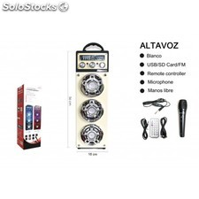 Mini altavoz bluetooth music box negro