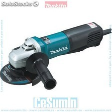 Mini-amoladora 125 mm 1400w 2800-11500 rpm sjs makpower sin bloqueo -