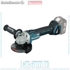Mini-amoladora a bateria 18v litio-ion 125 mm bl solo maquina - MAKITA