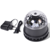 Mini bola discoteca con efectos de luces LED, marca Party Fun Lights