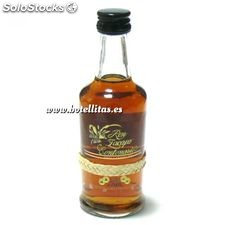Mini botellitas de Ron Zacapa 23 años 5 cl