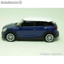 Mini cooper s paceman escala 1/43 welly