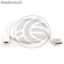 Mini DisplayPort Cable DisplayPort female to male 1 m (YQ41)