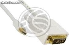 Mini DisplayPort Cable DVI-D male to male 2 m (YQ32)